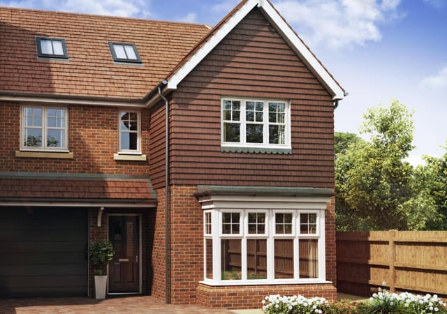 New build residential property Tring, Hertfordshire.