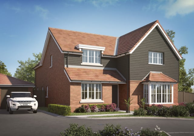 New build residential property.