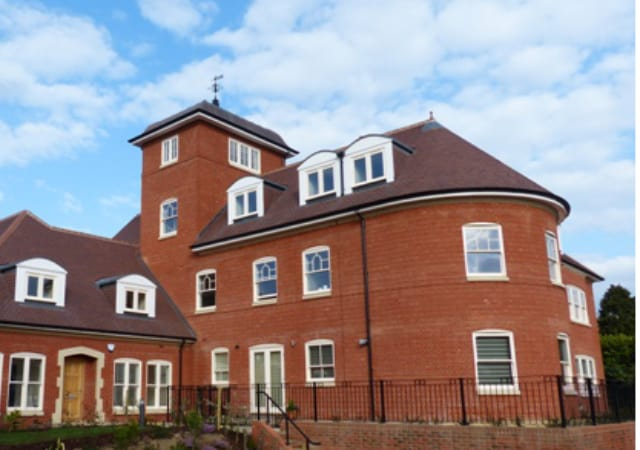 New build residential property Round Tower.