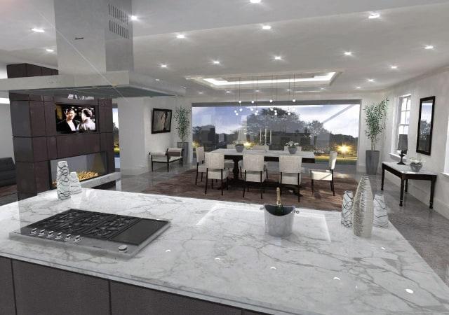 New build residential property Radlett - Kitchen design