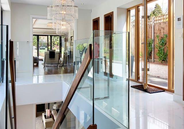 Interior of luxury residential property in Bushey, Hertfordshire