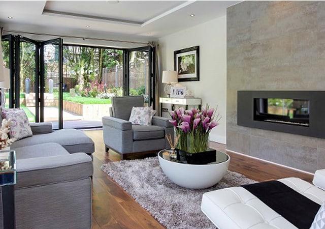 Interior view of luxury residential property in Bushey, Hertfordshire